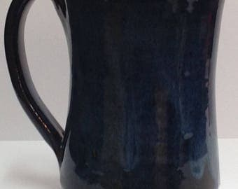Handmade Pottery Coffee Mug Holds 16 Ounces,  Coffee cup, ceramic // hot Coffee