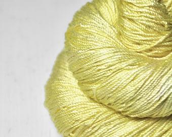 Freshly squeezed lemons - Cordonnette Silk Fingering Yarn