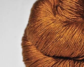 Camel gone wild - Cordonnette Silk Fingering Yarn