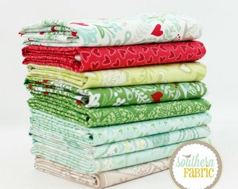"North Woods - Half Yard Bundle - 9 - 18""x21"" Cuts - by Kate Spain - Moda Quilt Fabric (KS.NW.9HY)"