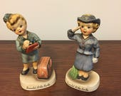 "Reserved for R. Foley - Lefton ""I Want To Be"" Series Collectible Figurines - 2 pc set"