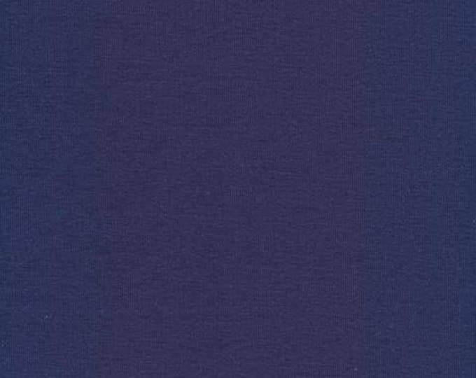 Organic KNIT Fabric - Cloud9 2017 Knits - Rib Knit Navy
