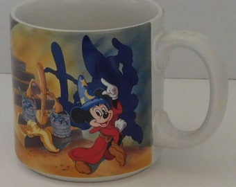 Mickey Mouse Sorcer in Fantasia Movie