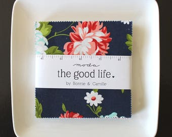 "The Good Life by Bonnie & Camille for Moda Charm Pack 5"" Squares"