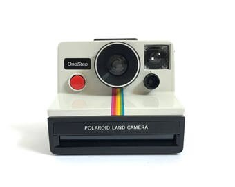 polaroid RAINBOW OneStep SX-70 film camera 80s works perfectly
