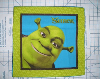 Shrek and Donkey Pillow Covers - Hide-away Pillow Covers