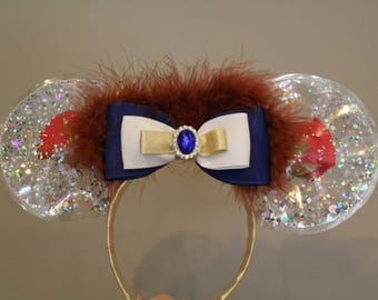 Disney, Beauty and the Beast inspired mouse ears