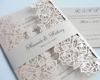 wedding invitation etsy