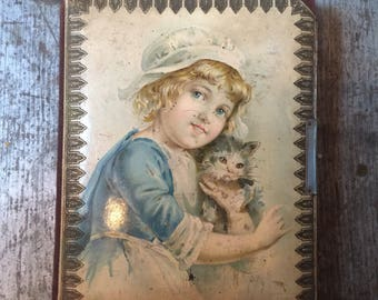Vintage 1800's Photo Picture Album