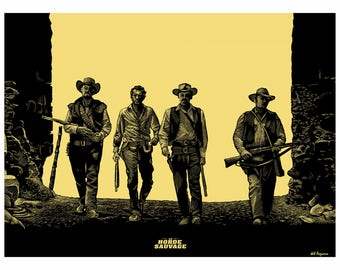 "POSTER ""The Wild Bunch"""