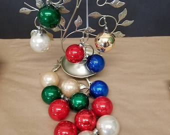 Set of 16 Vintage Christmas Ornaments