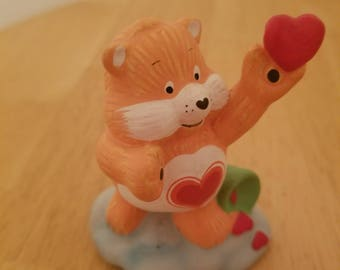 Vintage Care Bear Figurine
