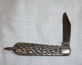 Vintage Single Blade Pocket Knife Imperial Providence RI USA Camping Fishing