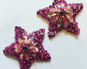 Pink Star BURLESQUE couture pasties