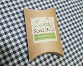 southeastern native pollinator seed balls (5 packs)