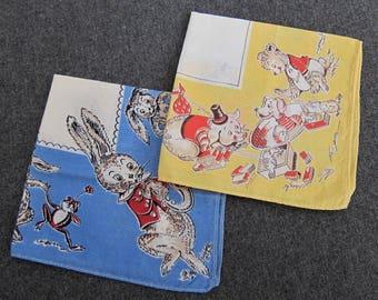 Tom Lamb Handkerchiefs (2)