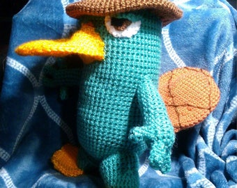 Crochet Perry the Platypus Inspector P