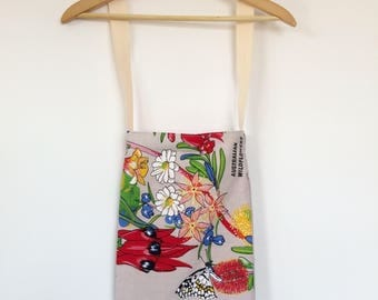 Wildflower Vintage Print Tote Bag