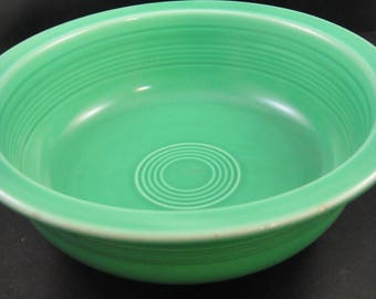 Fiesta Green Nappy Bowl