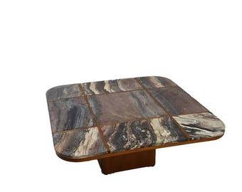 SUMMER SALE Danish Modern Marble Top Coffee Table by Bendixen
