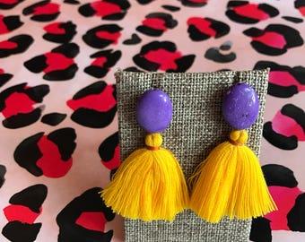 LSU Earrings