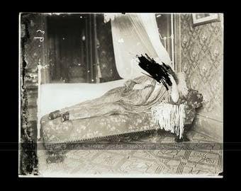Rare Photo Ernest J. Bellocq ~ Storyville Woman c. 1912