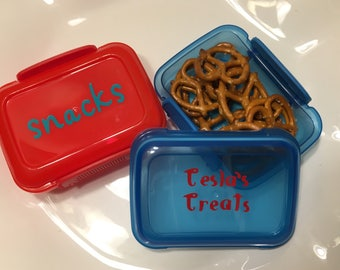 Customized Snack Containers