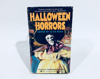Vintage Horror Book Halloween Horrors Edited by Alan Ryan 1987 Paperback Anthology