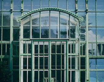 Glass Houses - Fine Art Photograph, Europe, Wall Art Print, Room Decor, European Travel Photography, Prague, Architecture, Facade