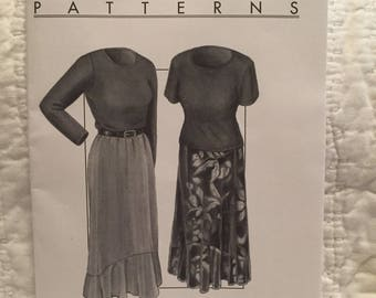 Great Copy pattern 2120 women's last tango skirt and top