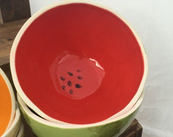 Watermelon Mixing Bowl