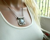 Custom Artisan Moonstone Necklace