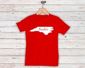 SHIPS MAY 10th!!! Red For Ed Teacher Shirts Teacher Advocacy Day NC May 16th Plus Sizes