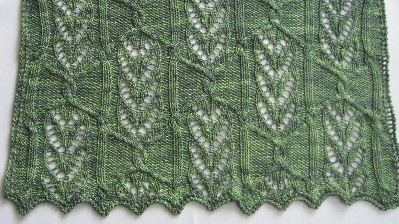 Knit shawl pattern narita cable lace shawl knitting pattern zoom bankloansurffo Gallery