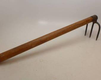 Antique Clam Rake - Antique Garden Tool