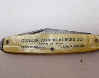 Vintage Pocket Knife - Advertising Pocket Knife - Brit-Nife