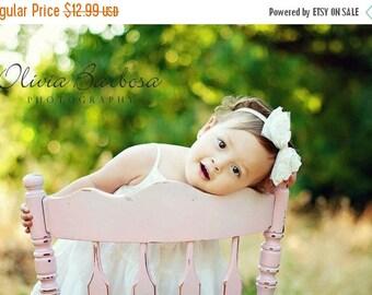 12% off Baby headband, newborn headband, adult headband, child headband and photography prop The single sprinkled- Ruffles headband