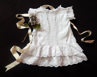Sweet Vintage Dress for Baby or Toddler