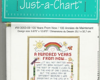 100 Years Fron Now Janlynn's Just-A-Chart
