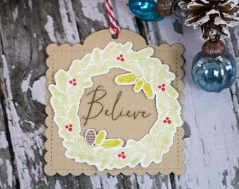 Believe - Gift Tag