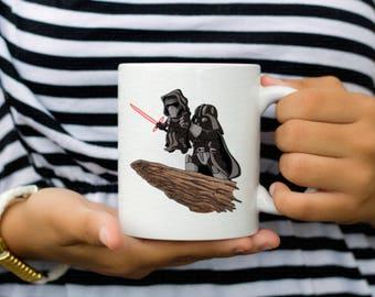 Darth Vader Kylo Ren Mug - Lion King Star Wars Coffee Mug - Disney World - Disney Mug