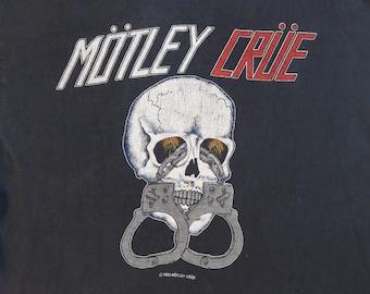 Vintage MOTLEY CRUE 1983 Tour T SHIRT original concert tee