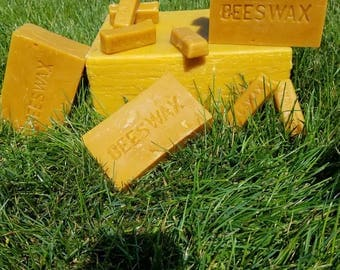 Organic yellow beeswax        ***PLEASE read Shipping costs in the description before purchasing. 7.79 SHIPPING is for 3 to 5 lbs only