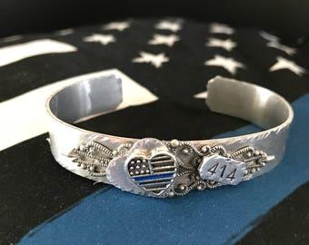 Thin Blue Line jewelry