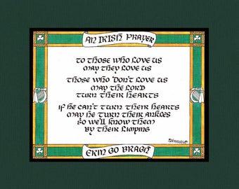 Irish Prayer.