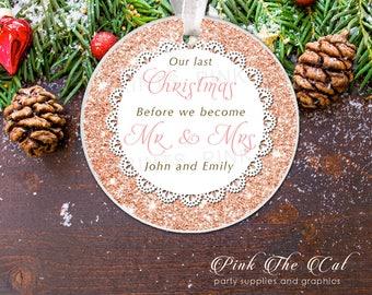 Newlywed christmas  Etsy