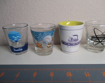 Souvenir Shot Glasses - Your Choice