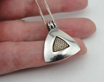 New israel design 9k yellow Gold 925 sterling Silver  pendant (416g