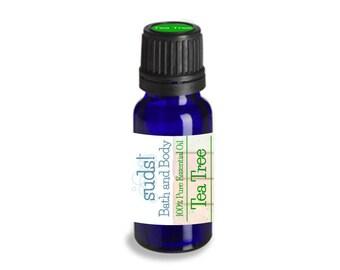 Tea Tree Essential Oil (Melaleuca alternifolia) - 100% Pure Essential Oil - 15 mL