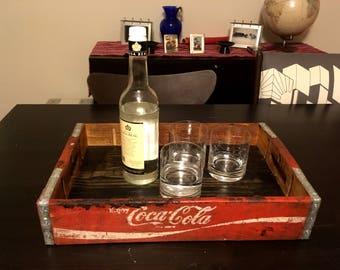 Serving Tray made from Coca Cola Vintage Crate